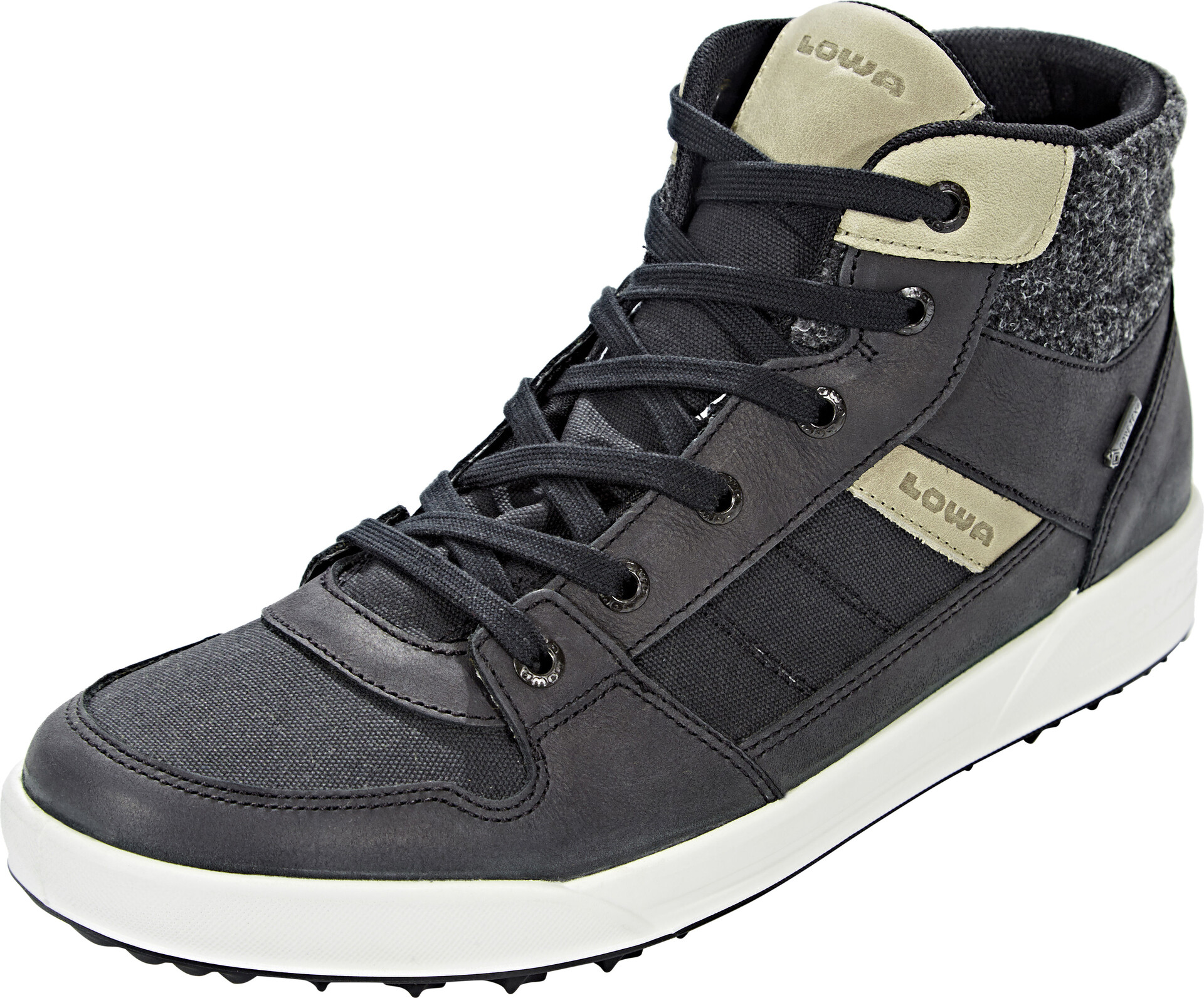 Lowa Seattle GTX Quartercut Schuhe Herren black